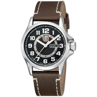 Luminox Field Automatic 1801 Watch - Silver Black Dial
