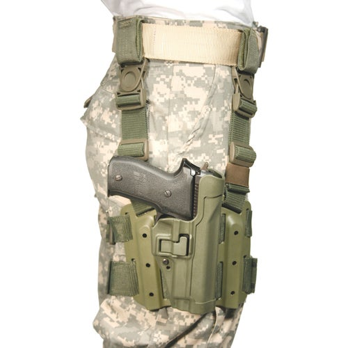 Blackhawk SERPA SIG Weapon Holster - Olive Drab