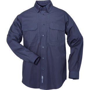 5.11 Tactical Cotton Long Sleeve Shirt - Fire Navy
