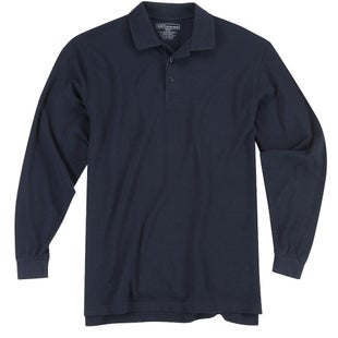 5.11 Tactical Professional LS Polo Shirt - Dark Navy