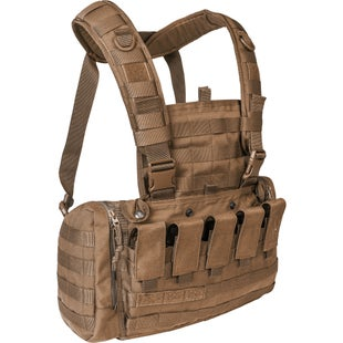 Tasmanian Tiger TT Mkii M4 Chest Rig - Coyote Brown