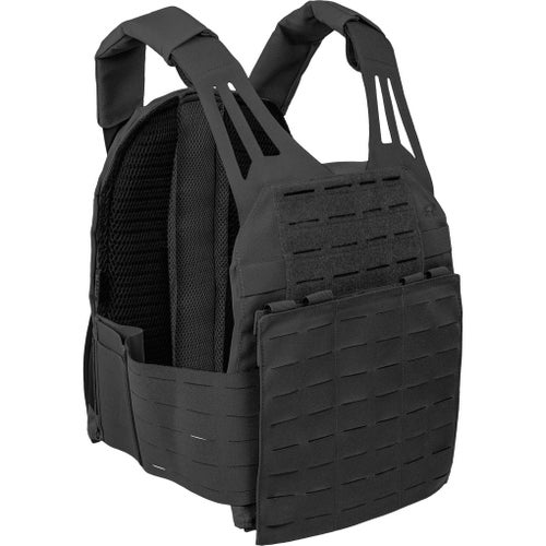 Tasmanian Tiger TT Plate Carrier Lc Vest - Black