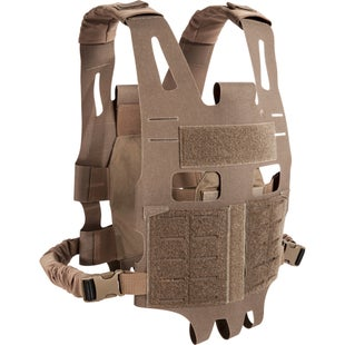 Tasmanian Tiger TT Plate Carrier Sk Vest - Coyote Brown