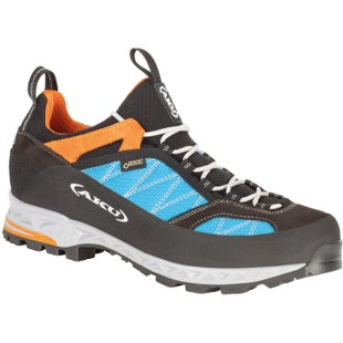 Aku Tengu Low GTX Walking Shoes - Turquoise Orange