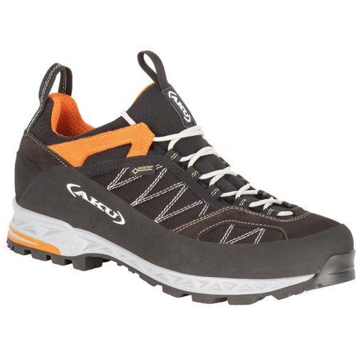 Aku Tengu Low GTX Walking Shoes - Black Orange