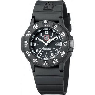 Luminox Original Navy Seal 3000 Series 3001 Watch - Black Dial