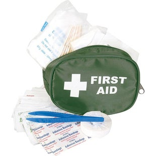 Mil-Com Traveller First Aid Kit First Aid Kit - Green