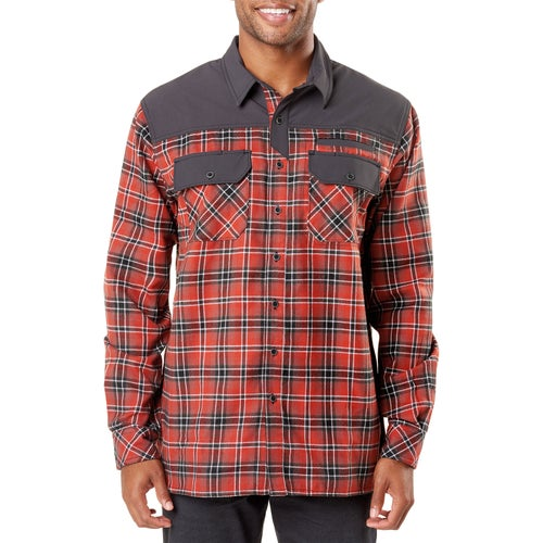 5.11 Tactical Endeavor L/s Flannel Shrt Shirt - Oxide Red Plaid