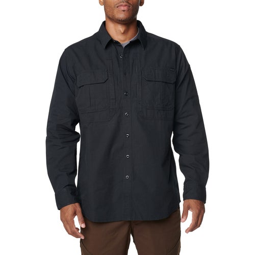 5.11 Tactical Expedition L/s Shirt - Snow Black Ash