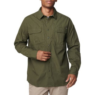 5.11 Tactical Expedition L/s Shirt - Sw Moss