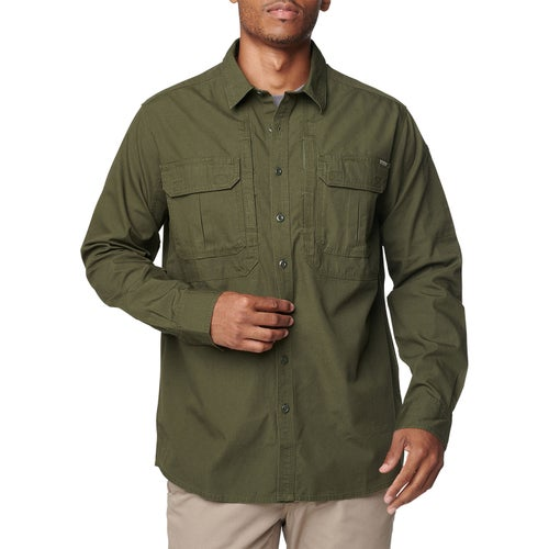 5.11 Tactical Expedition L/s Shirt - Snow Moss