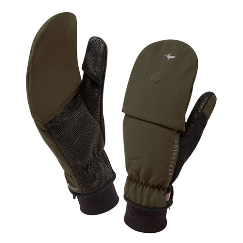 Sealskinz Outdoor Sports Mitten Gloves - Olive
