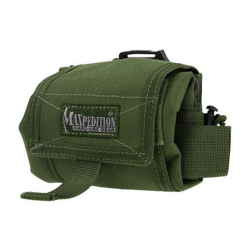 Maxpedition Rollypoly Folding Dump Pouch - OD Green