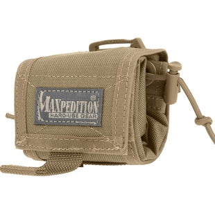 Maxpedition Rollypoly Folding Dump Pouch - Khaki Foliage