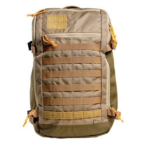 5.11 Tactical Rapid Quad Zip Pack Bag - Sandstone