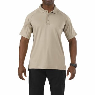 5.11 Tactical Performance Polo Shirt - Silver Tan