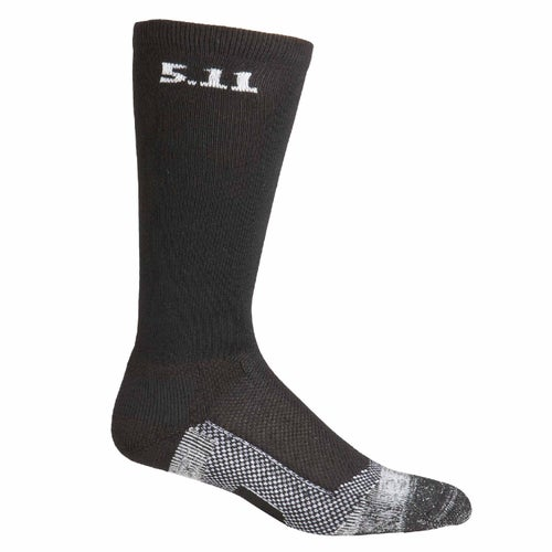 5.11 Tactical Level 1 9 Inch Socks - Black