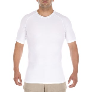 5.11 Tactical Tight Fit Crew Base Layer - White