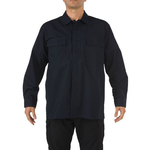 5.11 Tactical TDU Ripstop Long Sleeve Shirt - Dark Navy
