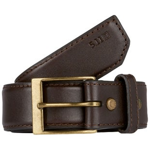 5.11 Tactical Casual Leather 1.5 inch Belt - Brown