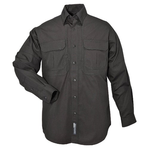 5.11 Tactical Cotton Long Sleeve Shirt - Black