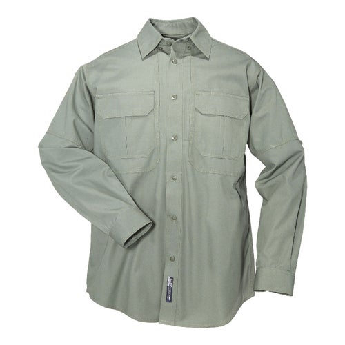 5.11 Tactical Cotton Long Sleeve Shirt - OD Green