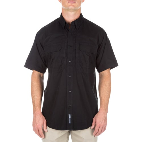 5.11 Tactical Cotton Short Sleeved Shirt - Black