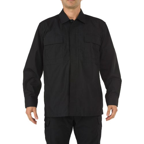 5.11 Tactical TDU Ripstop Long Sleeve Shirt - Black