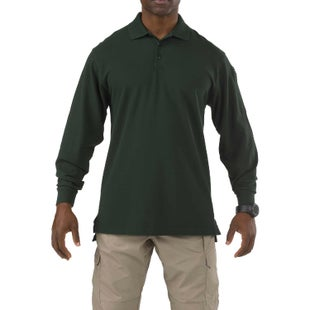 5.11 Tactical Professional LS Polo Shirt - LE Green