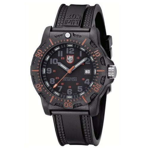 Luminox Navy Seals Black Ops Carbon Watch 8815 Watch - Black Grey Dial