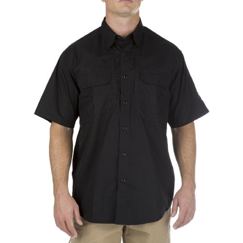 5.11 Tactical Taclite Pro Short Sleeved Shirt - Black