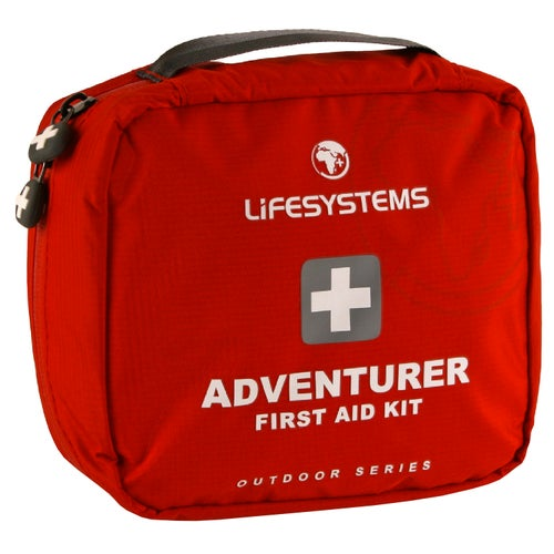 Life Systems Adventurer First Aid Kit - Red
