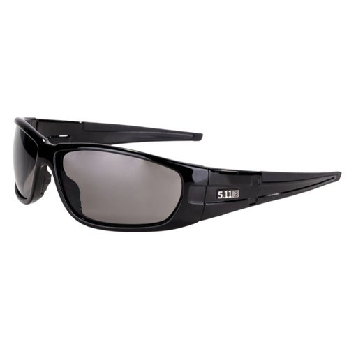 5.11 Tactical Climb Sunglasses - Gloss Black Frame ~ Smoke Lens