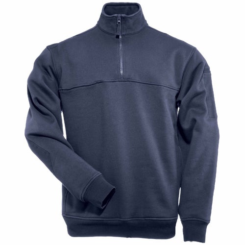 5.11 Tactical Quarter Zip Job Long Sleeve Shirt - Fire Navy