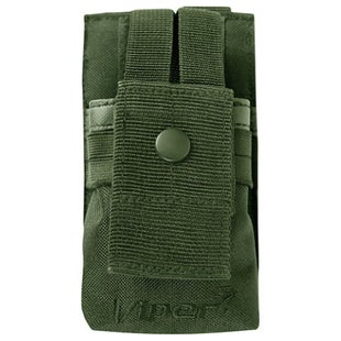 Viper GPS Radio Pouch - Olive Green
