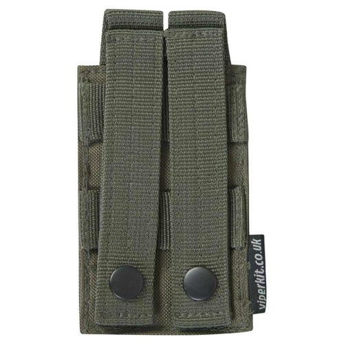 Viper Double Grenade Pouch - Olive Green