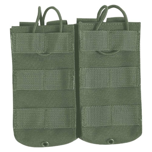 Viper Quick Release Double Mag Pouch - Olive Green