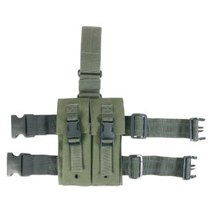 Viper M16 Drop Leg Mag Pouch - Olive Green