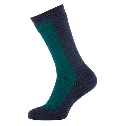 Sealskinz Hiking Mid Mid Outdoor Socks - Pine Black