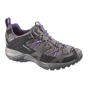 Merrell Siren Sport Gore Tex Womens Walking Shoes - Black Perfect Plum