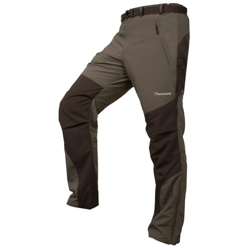 Montane Terra Reg Length Pants - Flint