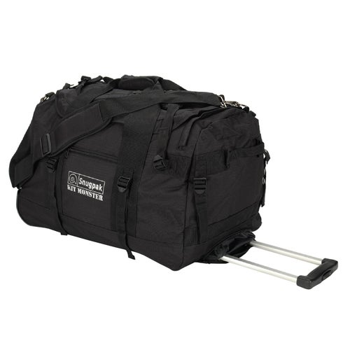 Snugpak Kit Monster 65 Roller Luggage - Black
