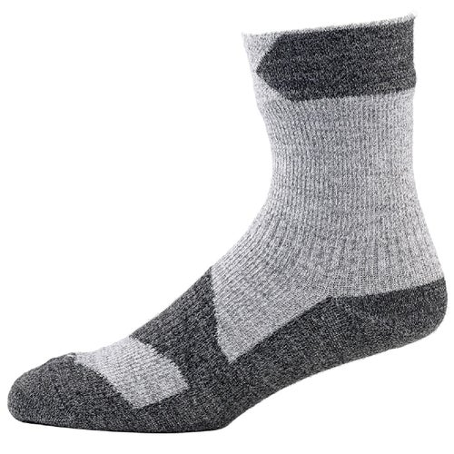 Sealskinz Walking Ankle Outdoor Socks - Grey Marl Dark Grey