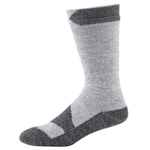 Sealskinz Walking Thin Mid Outdoor Socks - Grey Marl Dark Grey