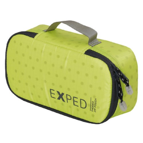 Exped Padded Zip Pouch Small Organiser - Lime