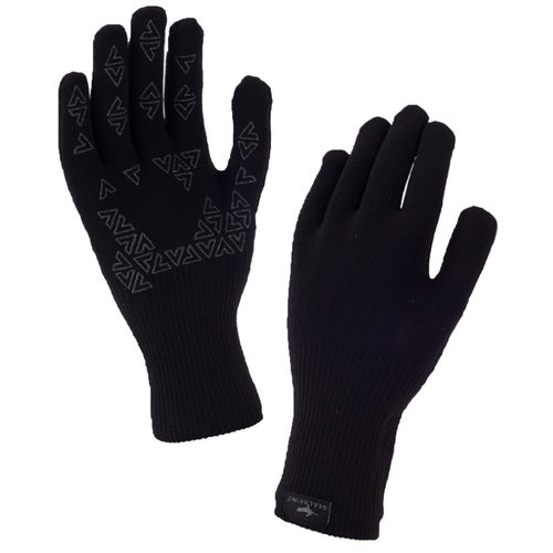 Sealskinz Ultra Grip Gauntlet Gloves - Black