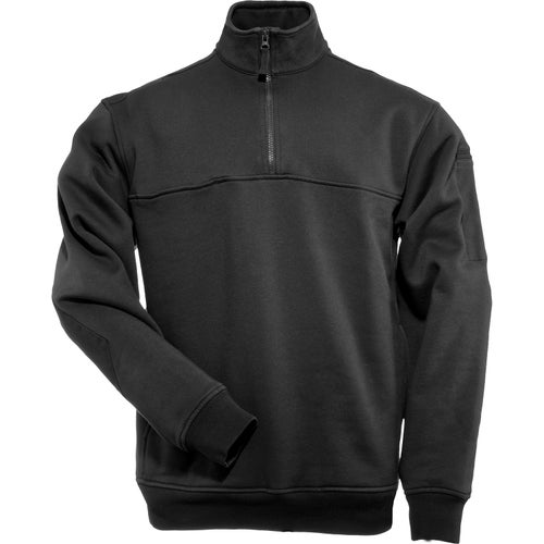 5.11 Tactical Quarter Zip Job Long Sleeve Shirt - Black