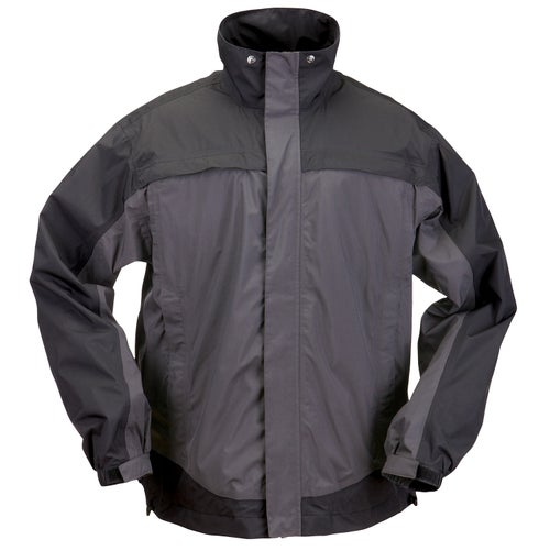 5.11 Tactical TAC Dry Rain Shell Jacket - Charcoal