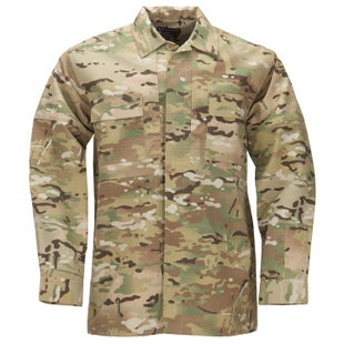 5.11 Tactical TDU Ripstop Long Sleeve Shirt - Crye Multicam