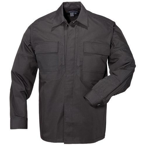 5.11 Tactical Taclite TDU Long Sleeve Shirt - Black